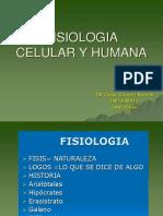 Teoria Fisiologia Celular 1