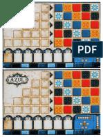 Azul Board Game - Tabuleiro