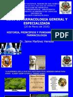 Farmacología Clase 1
