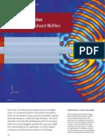 Transient Simulaton of Flow noise in Mufflers
