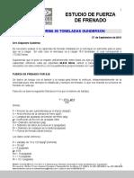 Estudio de Fuerza de Frenado Plataforma 80 Ton