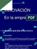 Innovacion en La Empresa
