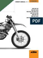 KTM EXCF 450 2013 INDONESIA RELEASE