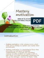 Mastery Motivation