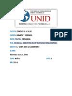 SOLUBILIDAD INCOMPATIBILIDAD DE SUSTANCIAS MEDICAMENTOSAS