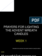 2018-12 Prayers for Lighting the Advent Wreath Candles