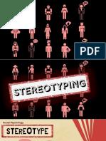 Stereotype by Myrelle Osit