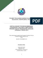 Kertas konsep Program LCM SIP+ PPD Kulai 2015