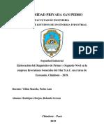 Seguridad Industrial - Diagnósticos 1er y 2do Nivel