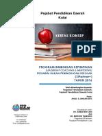 Kertas Konsep Program LCM SIP+ PPD Kulai 2016