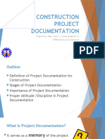 Project Documentation in Construction