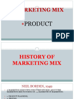 6 Marketing Mix PRODUCT