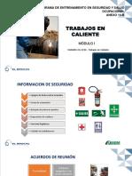 Trabajos en Caliente - Brocal Modulo 1