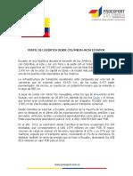 Perfil Logistico de Ecuador 2014