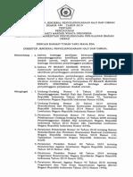 Surat Keputusan Dirjen PHU terhadap Bhakti Mandiri Wisata Indonesia (BMWI) untuk menjadi Lembaga Akreditasi PPIU