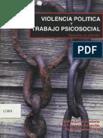 Violencia Politica y Trabajo Social