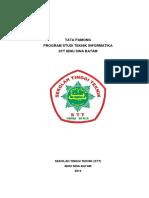Tata Pamong Prodi Teknik Informatika