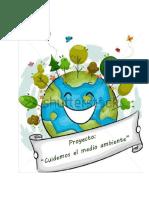 proyecto cuidemos el medio ambiente