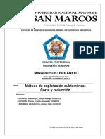 MINADO SUBTERRANEO