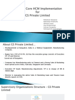 GS Private Limited - Workday HCM Implementation