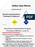 Hazard Communication Training 2004