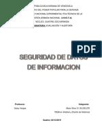 Seguridad de Datos e