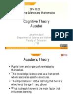 6. Ausubel Deductive Theory