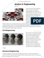 The Use of Calculus in Engineering _ Sciencing