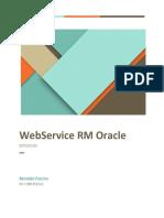 Documentação WS RM Oracle