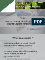 CCIM Presentation