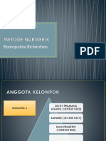 Metode Nurmerik _ekstrapolasi Richardson Kelompok 4