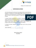 Certificado Atraso 503MTR 27-11-19