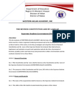 SSG constitutions and by laws