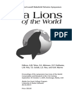 Sea Lions of the World - 2006