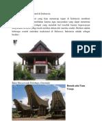 Arsitektur Tradisonal di Indonesia.docx