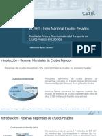 Victor Cabrejo Foro ACIPET Resultados Retos y Oportunidades Del Transporte de Crudos Pesados en Colombia (Importante No Mames)