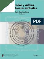 Educación y cultura en ambientes virtuales