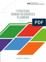 Sample-Strategic Human Resources Planning 7th 7E