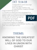God's Will Presentation