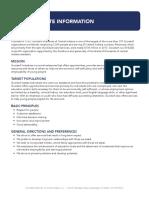 Goodwills Corporate Information