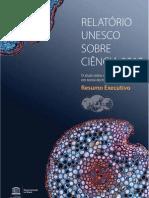 Relatório UNESCO - Ciência 2010
