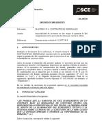 099-13 - MANFER SRL Contratistas Generales - Garantia de Fiel Cumplimiento en Obras Bajo La Modalidad de Concurso Oferta