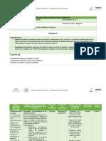 Planeación  didáctica Unidad 3 Canales de venta