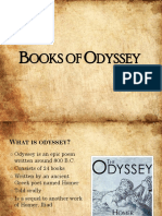Books of Odyssey PPT