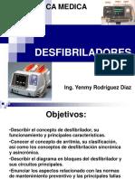 Clase 1.3 Desfibriladores