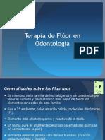 Fluorterapia en Odontología
