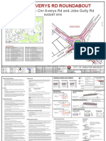 Averys Road - Jobs Gully Roundabout designs