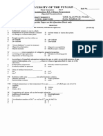 Chemistry 2018 past paper