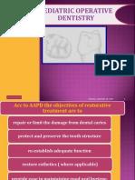 Pediatric Operative Dentistry
