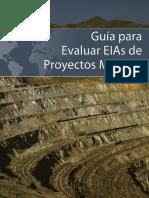 Guia Para Evaluar Evaluar Estudios de Impacto Ambiental Semidetallados de Proyectos Mineros
